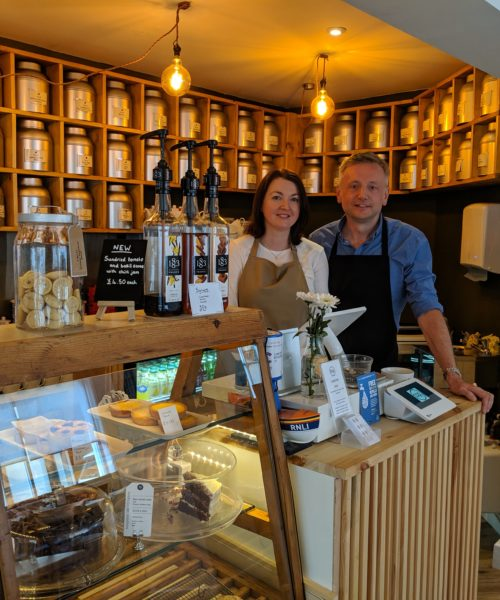 Pamela and Lance Merryweather, Teaspoon Tea Company
